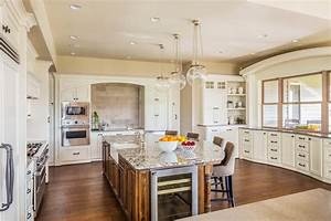 35 beautiful white kitchen designs with pictures With kitchen colors with white cabinets with americana wood wall art