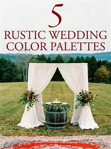 5 Rustic Wedding Color Palette Ideas Junebug Weddings