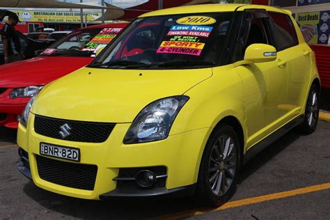 2010 Suzuki Swift Ez 07 Update Sport