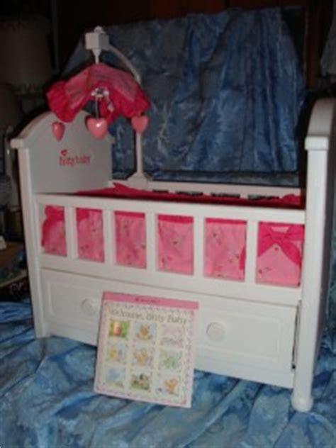 bitty baby crib american bitty baby doll crib w pull out drawer
