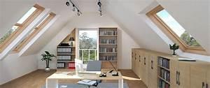 Büro Im Keller Einrichten : m bel l sung f r dachschr gen ~ Bigdaddyawards.com Haus und Dekorationen