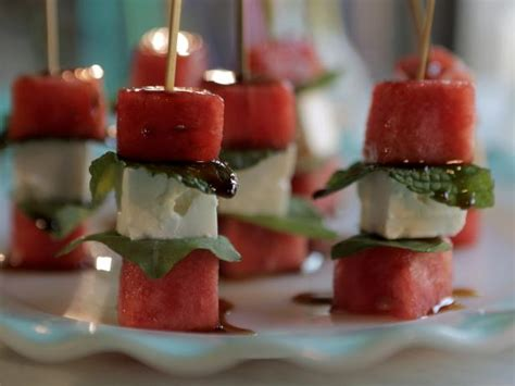 Watermelon And Feta Skewers Recipe Damaris Phillips