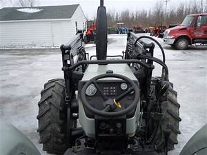 Used Agco White 6065 Tractor W  Loader- 4wd