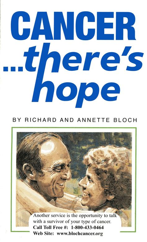 cancer  hope richard annette bloch family