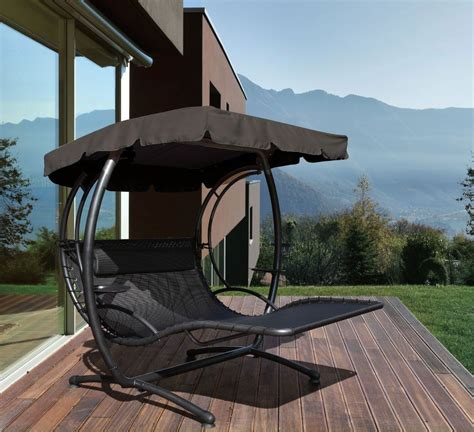 jarder  seater luxury swing seat bed sun lounger