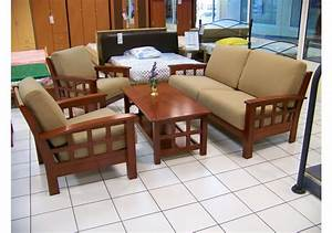 Meuble Salon Bois : fauteuil salon bois massif ~ Teatrodelosmanantiales.com Idées de Décoration