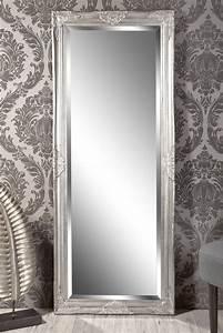 Wandspiegel Silber Antik : spiegel wandspiegel louisa barock antik silber 150 x 60 cm in m bel wohnen dekoration ~ Watch28wear.com Haus und Dekorationen