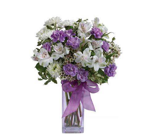 enchanted cottage bouquet teleflora s lavender laughter 183 teleflora s day
