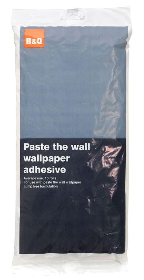 B&Q Paste The Wall Wallpaper Adhesive