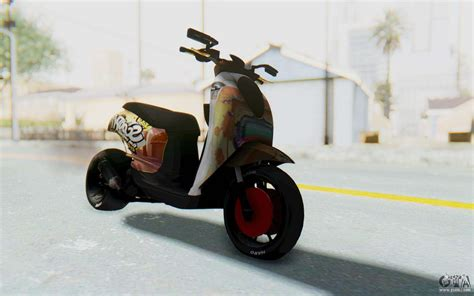Scoopyi Modified by Honda Scoopyi Modified For Gta San Andreas