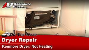 Kenmore 11070922990 Dryer Repair  U2013 Not Heating  U2013 Thermal Fuse