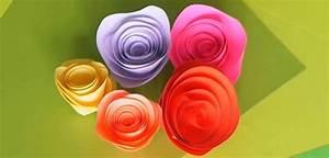 Comment Faire Une Rose En Papier Facilement : une rose en papier super facile r aliser ~ Nature-et-papiers.com Idées de Décoration