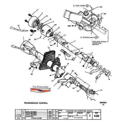 Steering Column Rebuild Trifive Chevy