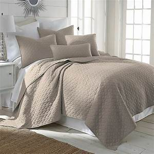 Levtex, Home, Salerno, Twin, Quilt, Set, In, Taupe