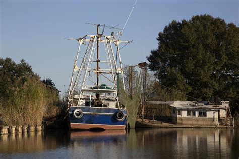 Shrimp Boat House by Shrimp Boat Houseboat Heritagephotographyllc