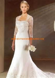 robe de mariã e avec manche dentelle robe de mariée avec manches en dentelle traîne moyenne
