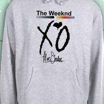 the weeknd sweaters xo the weeknd hoodie sweatshirt sweater from