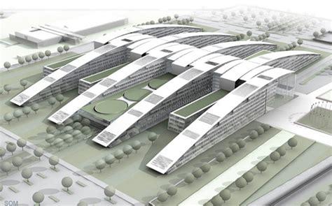 siege de otan vue d 39 ensemble du projet d 39 architecture nouveau siège de