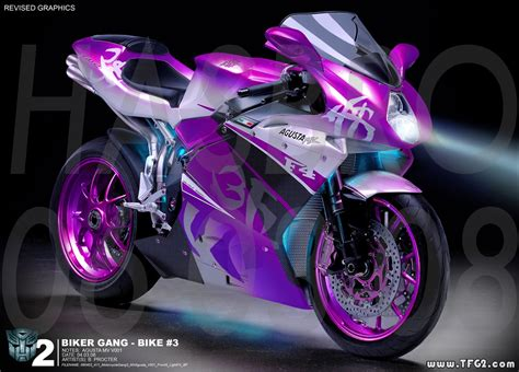 Concept Art Of Rotf Arcee Sisters Motorcycle Modes
