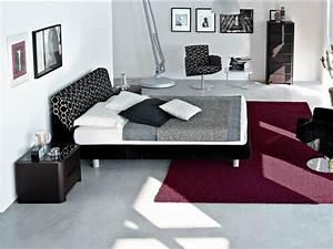 Möbel Dunkles Holz : schlafzimmer dunkle farben ~ Michelbontemps.com Haus und Dekorationen