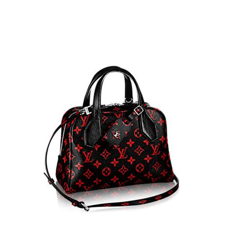 louis vuitton launches red  black monogram infrarouge collection spotted fashion