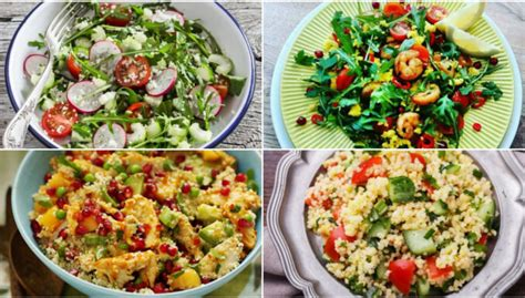 10 vienkārši pagatavojami salāti ar kuskusu ātrām ...