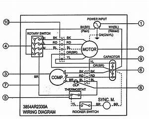Goldstar R5400 Room Air Conditioner Parts