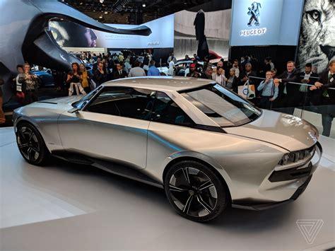 Peugeot Concept by Peugeot Concept Www Bilderbeste