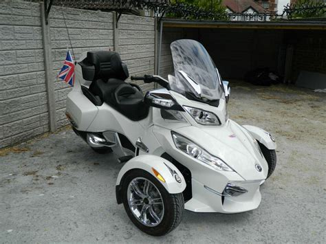 2012 Can-am Spyder Roadster 1000cc Rt Ltd Motorcycle 3