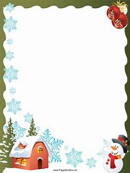 paper christmas border clip art - Christmas Border