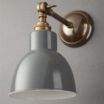 classic grey adjustable straight arm wall light ideas