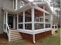 build a porch Planning & Ideas : Good Porch Deck Screening Steps for Build Porch Deck Screening Screened Porch ...