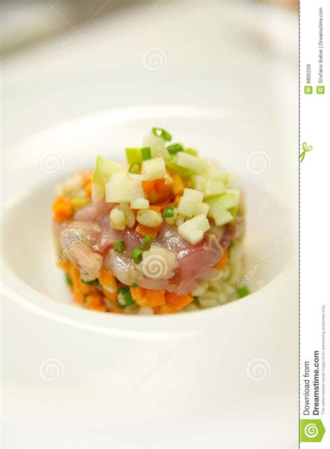 cuisine nouvelle food nouvelle cuisine stock image image of