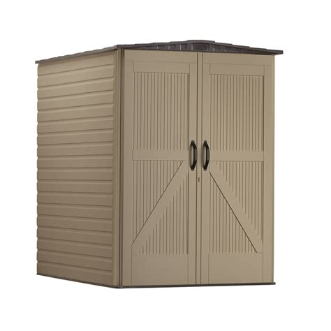 Rubbermaid Shed Assembly Time by Shop Rubbermaid Roughneck Gable Storage Shed Common 5