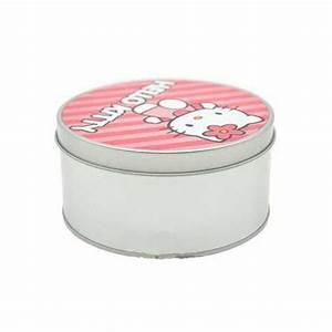 Boite Cadeau Ronde : boite cadeau bonbon ronde personnalis e en aluminium ~ Teatrodelosmanantiales.com Idées de Décoration