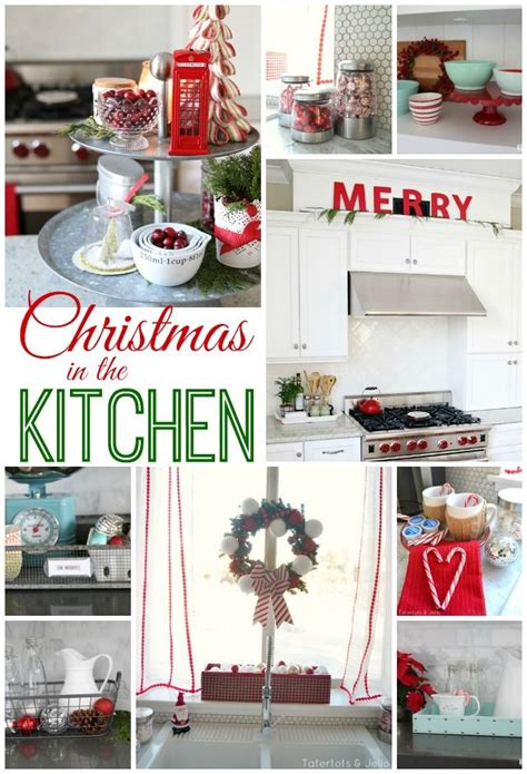 24+ Breathtaking Kitchen Xmas Decorations