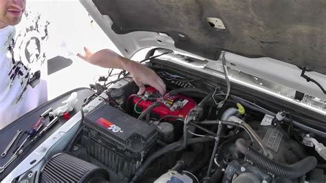 Jeep Wrangler Optima Battery Replacement Youtube