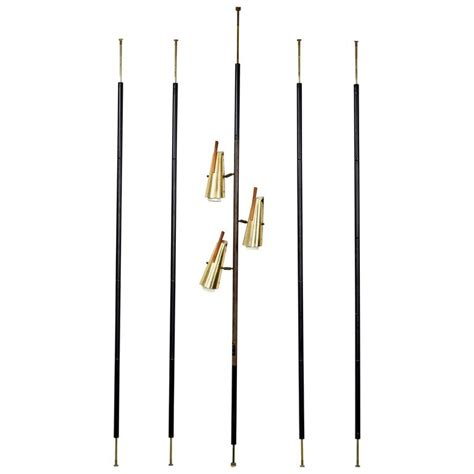 mid century tension pole l mid century modern stiffel pole tension ls room divider
