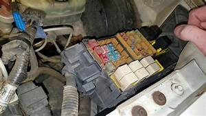 Ford Ranger 2002 Ac Fuse And Relay