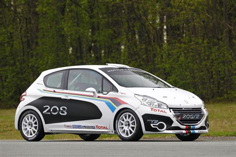 Peugeot Rally by Peugeot Debuts New 208 R2 Rally Car Autoblog