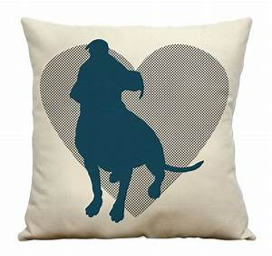 cotton canvas dog pillows and canvases on pinterest With canvas dog pillow