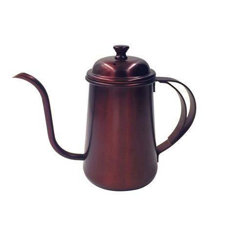 kettle tea pour coffee stainless steel pot gooseneck hand drip 650ml kettles