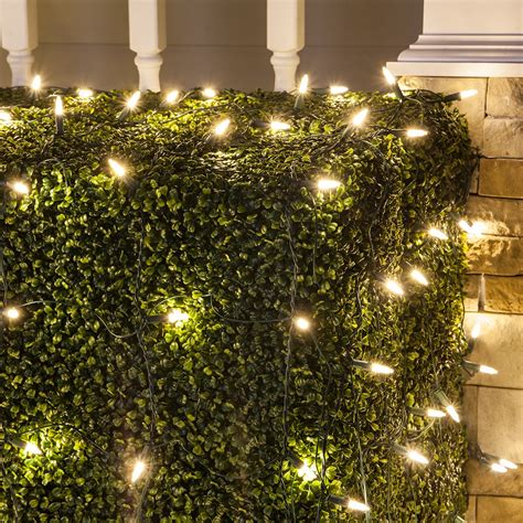 how to measure netted christmas lights shrubs led net lights m5 4 x6 warm white led net lights green wire