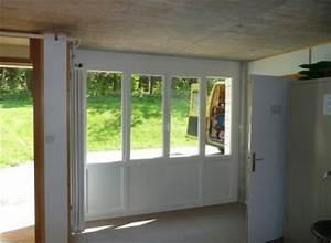 porte de garage avec porte vitree porte d entree blindee With porte de garage coulissante avec bloc porte vitree intérieure