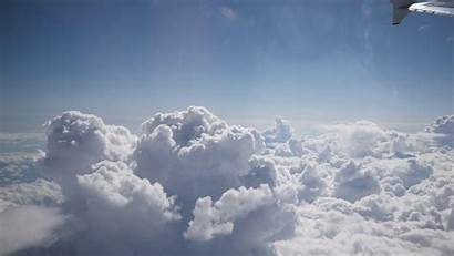 Clouds Above Sky Fluffy Desktop Hq Wallpapers