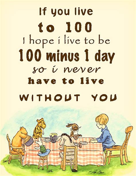 Pooh Bear Quotes 100 Years