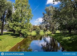 Olympiapark, -, Olympic, Park, Munich, Munich, Germany, Stock, Photo