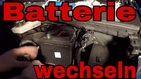 batterie ford batterie wechseln autobatterie starterbatterie wechsel ford galaxy tutorial changing the