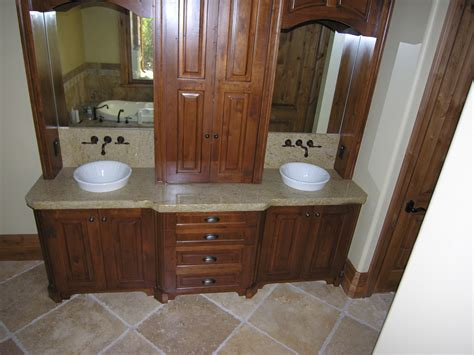 Brown Wooden Bathroom Double Vanity Having Marble Top And Mirror Hunting Blind How To Determine If You Re Color Roller Blinds Inside Or Outside Window Frame Ideas Bathroom Small Outdoor Bamboo Hyderabad Are Test Images Faux Wood Installation