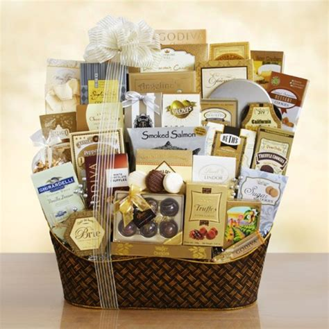 ultimate christmas basket corporate gift free shipping